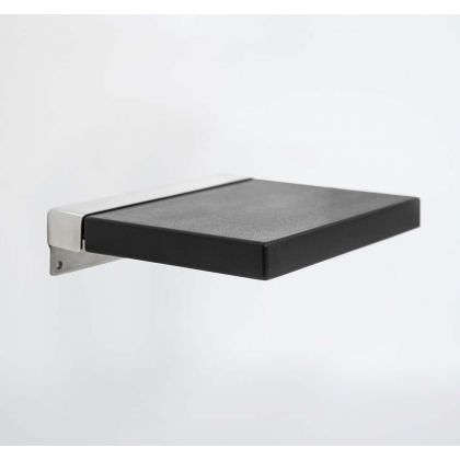 Contemporary Compact Square Padded Shower Seat