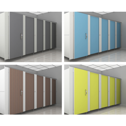 Contractor MFC Toilet Cubicles Packs 1 (WCContractor)