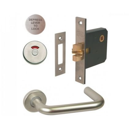 Lever Handle Mortice Lock with Indicator Set