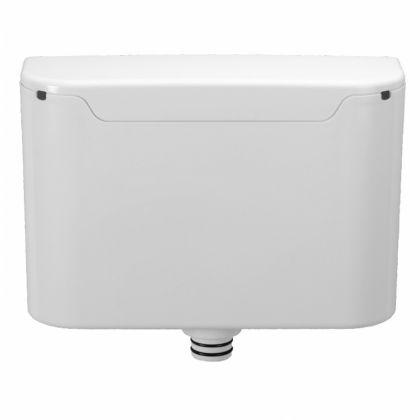 Twyford Flushwise Concealed Plastic Dual Flush Cistern with Flush Plate