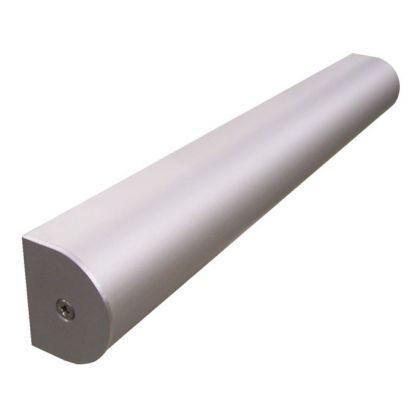 D-Channel Headrail - Satin Aluminium (3.5m)