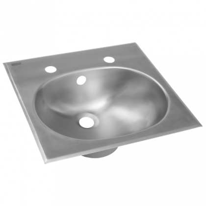 Franke Inset Stainless Steel Wash Hand Basin with Circular Bowl