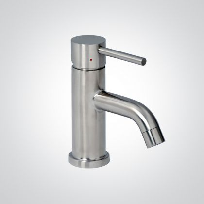 Dolphin Monobloc Lever Operated Mixer Tap (Brushed or Black Finish)