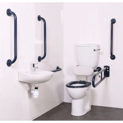 Value Low Level Disabled Toilet Room Pack (Doc M Pack)
