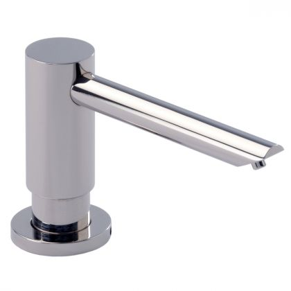 Dolphin Contemporary Counter Mounted Soap Dispenser - Polished Chrome