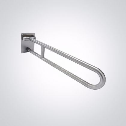 Dolphin Dispensers Hinged Support Rail 800mm - Powder Coated