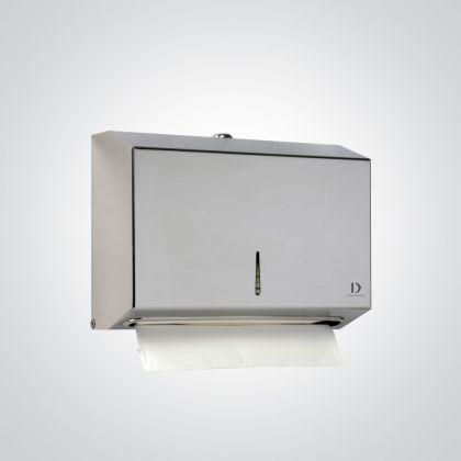 Dolphin Mini C-Fold Dispenser Stainless Steel - Satin