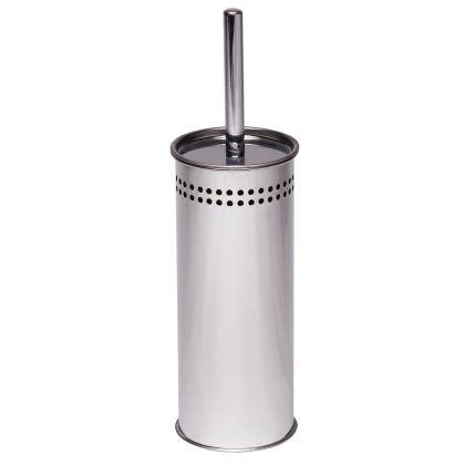 Dolphin Satin Stainless Steel Toilet Brush Set