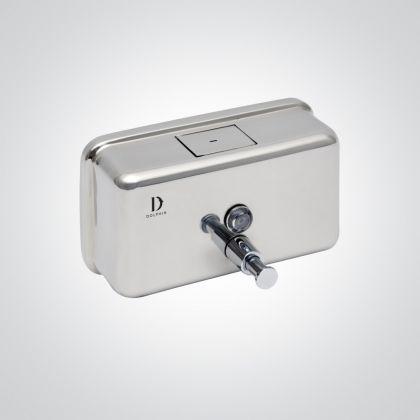 Dolphin Stainless Steel Horizontal Soap Dispenser