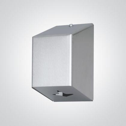 Dolphin Standard Centre Feed Dispenser Stainless Steel