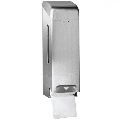 Satin Stainless Steel Dolphin Triple Toilet Roll Holder