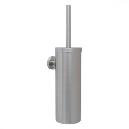 Dolphin Wall Mounted Stainless Steel Toilet Brush Set