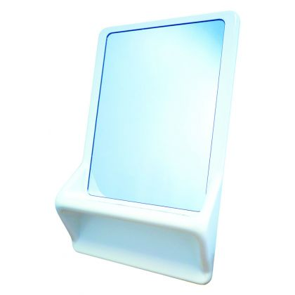 DVS Vandal Resistant Mirror, Frame and Shelf