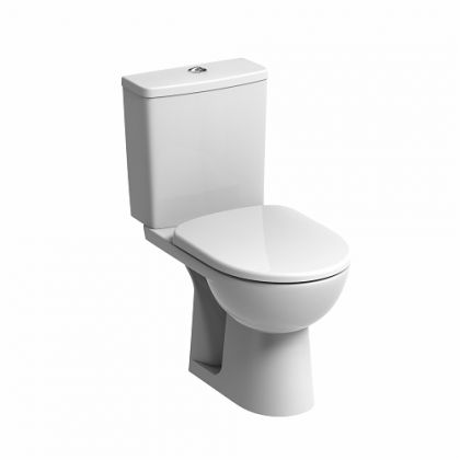 Twyford E100 Square Close Coupled Standard Toilet