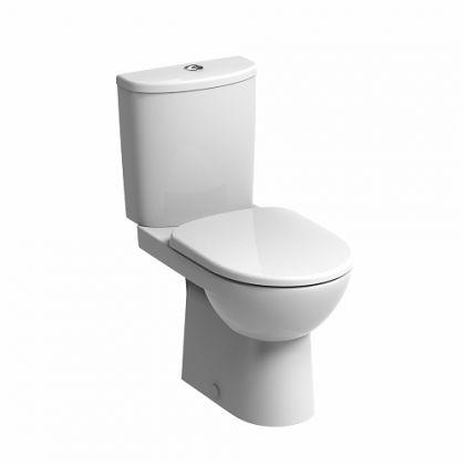 Twyford E100 Round Premium Close Coupled Toilet