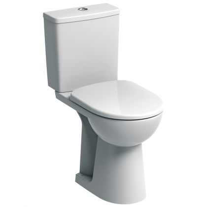 Twyford E100 Raised Height Close Coupled Toilet