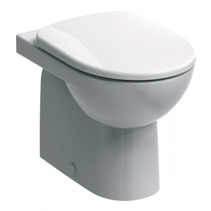 Twyford E100 Round Back to Wall Toilet