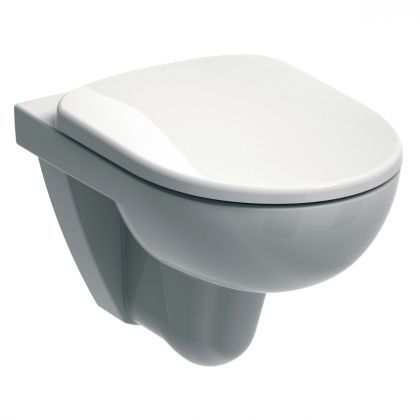 Twyford E100 Round Wall Hung Toilet