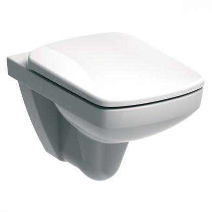 Twyford E100 Square Wall Hung Toilet