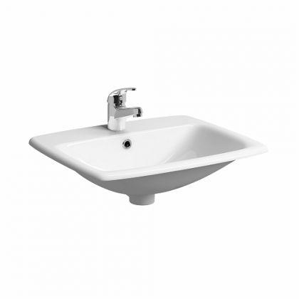 Twyford E100 Square Countertop Inset Basin