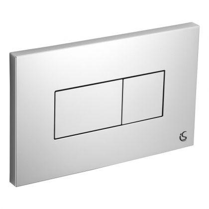 Ideal Standard Branded Karisma Flush Plate (Dual Flush) for Conceala 2 Cistern
