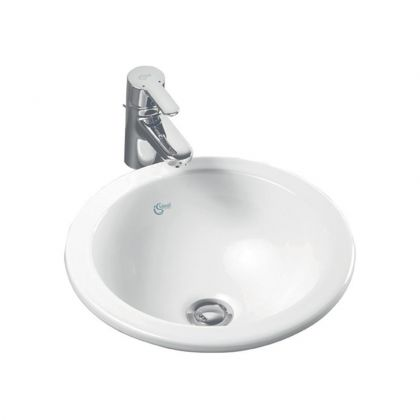 Ideal Standard Concept Sphere 38cm Countertop Washbasin (No Tap Hole)