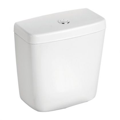 Dual Flush Push Button Delay Fill 4/2.6 litre Cistern for Armitage Shanks Sandringham 21 Close Coupled Toilet | Commercial Washrooms