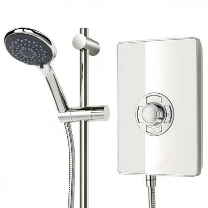 Triton Aspirante Electric Shower (White)