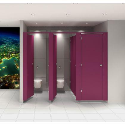 Executive MFC Toilet Cubicle Range
