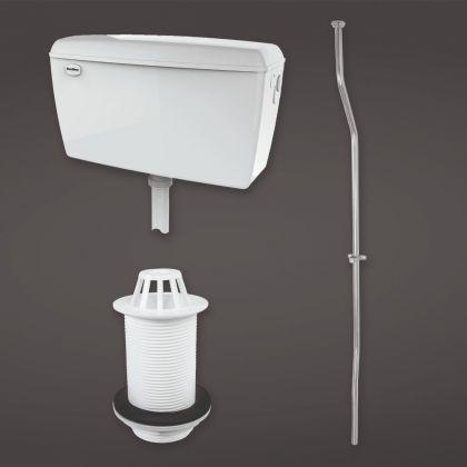 1 Bowl RAK Concealed Urinal Auto Cistern Pack