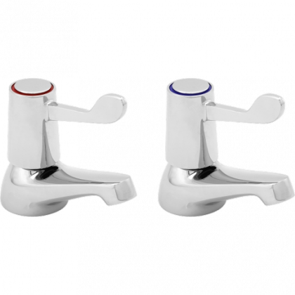 Franke Pair of Lever Action Basin Taps