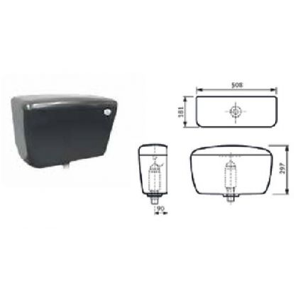 Franke Plastic Automatic Syphon Cistern for Urinals