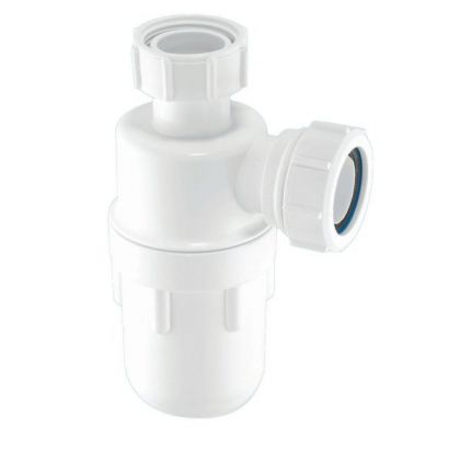 """McAlpine A10 75mm Water Seal Bottle Trap with Multifit Outlet 1.1/2"""" x 75mm"""