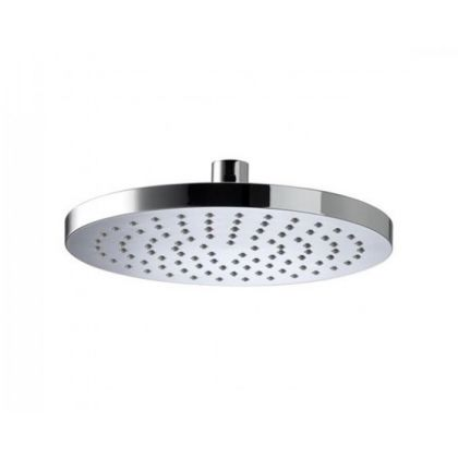 Bristan 200mm ABS Round Fixed Shower Head (Wall or Ceiling Mounted Arm)