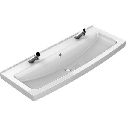 Franke 2 Users Miranit Wash Trough with Tap Ledge