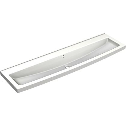 Franke 3 Users Miranit Wash Trough with Tap Ledge