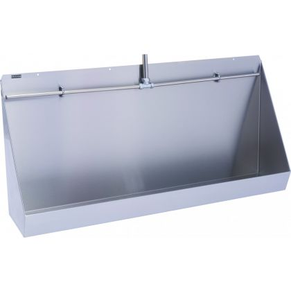 Franke Centinel Wall Hung Stainless Steel Urinal Trough