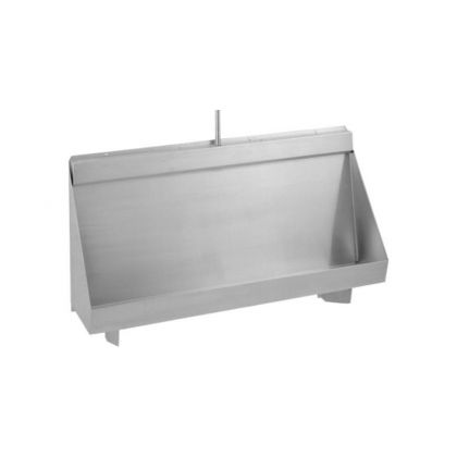 Franke Centinel Wall Hung Stainless Steel Urinal Trough (Concealed Cistern)