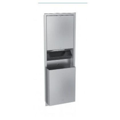 Franke Recessed Paper Towel Dispenser/Waste Bin