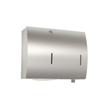 Franke Stratos Paper Towel and Soap Dispenser Combination for Wall Mounting