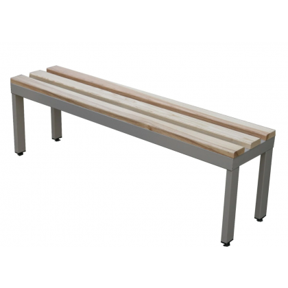 Ultra Fast Wooden Slatted Changing Room Bench Seat - Fast Delivery