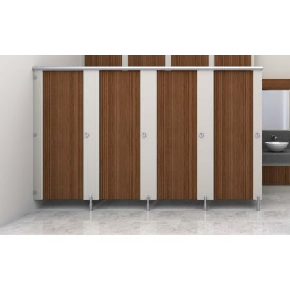 Future HPL Changing Cubicles for Dry Environments - 3 Wall Angle