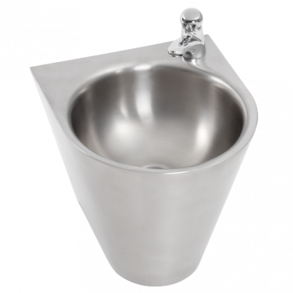 Franke Centinel Stainless Steel Wall Hung Hand Wash Basin (1 Tap Hole)