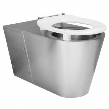 Franke Disabled Back to Wall Stainless Steel Toilet