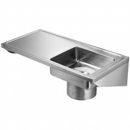 Franke Plaster Sink Stainless Steel Left Hand Drainer