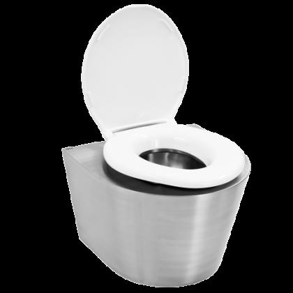 Franke Stainless Steel Hospital Bariatric Toilet