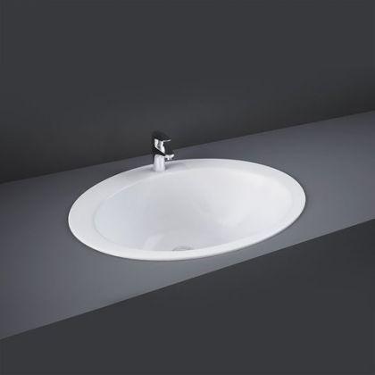 RAK-Jessica 53cm Over Counter Wash Basin 1 Taphole | Commercial Washrooms
