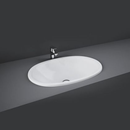 RAK-Lily 46cm Over Counter Wash Basin | Commercial Washrooms