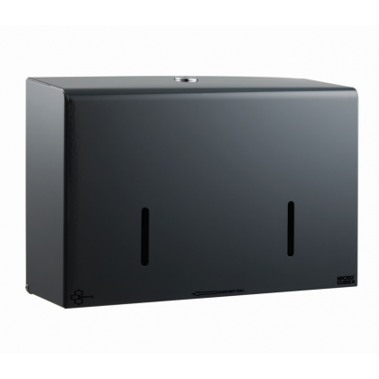 Graphite Grey MicroCube Twin Micro Jumbo Dispenser