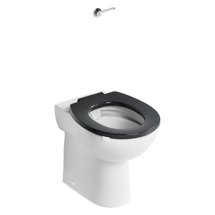 Armitage Shanks Contour 21+ Raised Height Back to Wall Rimless Toilet | Commercial Washrooms